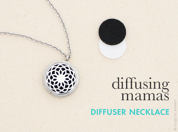 Diffusing Mama's diffuser necklace — a favorite find on Eclectic Affinity