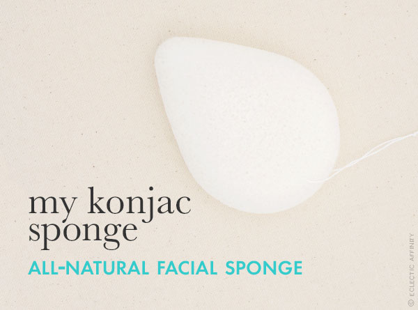 My Konjac Sponge — a favorite find on Eclectic Affinity