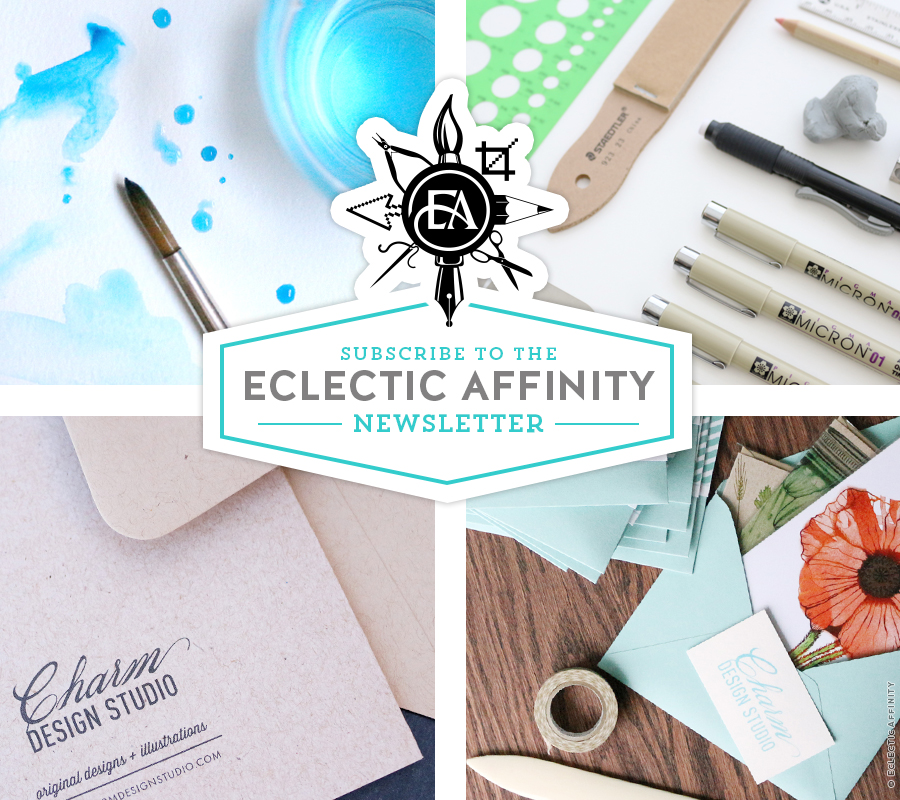 subscribe to the Eclectic Affinity newsletter