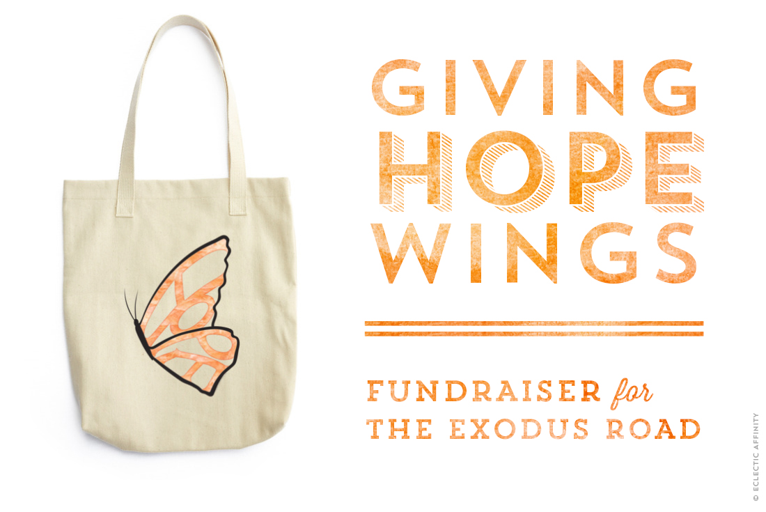 Hope Needs Wings fundraiser for The Exodus Road