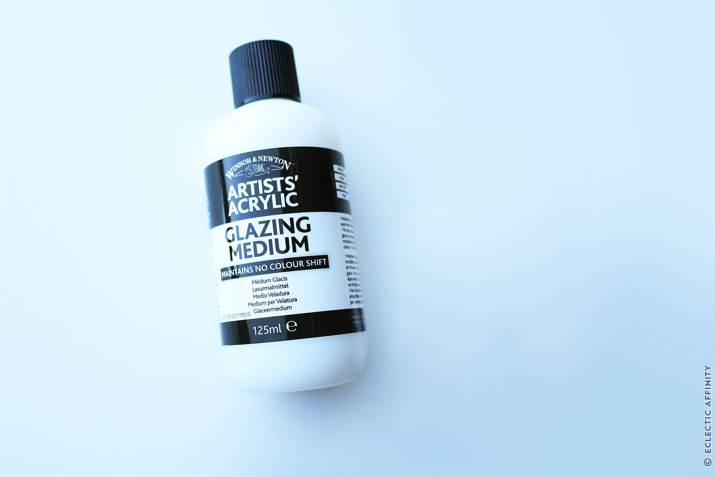 glazing medium for acrylic paint | image © Charm Design Studio, LLC.